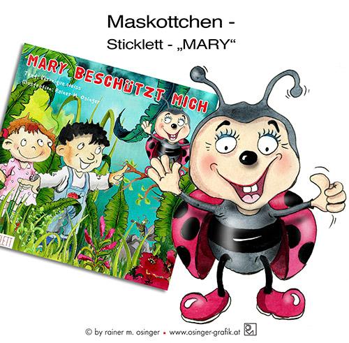 Maskottchen, Maskottchenentwicklung im Bereich Kindermarketing. Firmenmaskottchen für Ihr Unternehmen, Ihre Firma oder Ihren Verein von Rainer M. Osinger. Ein Maskottchen ist auch Imageträger für Unternehmen oder Ihre Institutionen und steht für Freundlichkeit, Offenheit und Nähe zum Besucher, Gast, Kunden oder zum Fan.
