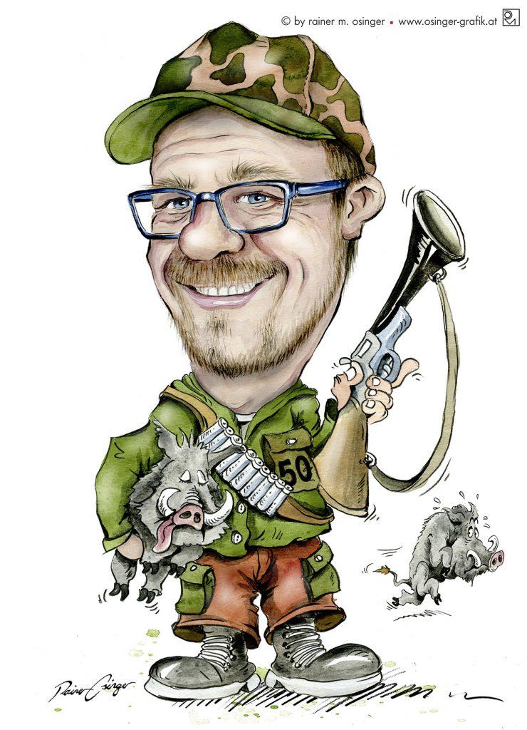 St.Veit, Karikatur, Karikaturen, St. Veit Glan, Osinger, Karikaturist, Geschenk, Karikatur